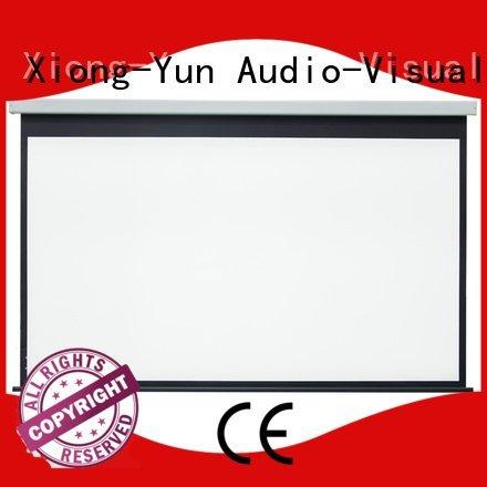Custom Motorized Retractable Projector Screen e300a motorized rsc64 XY Screens