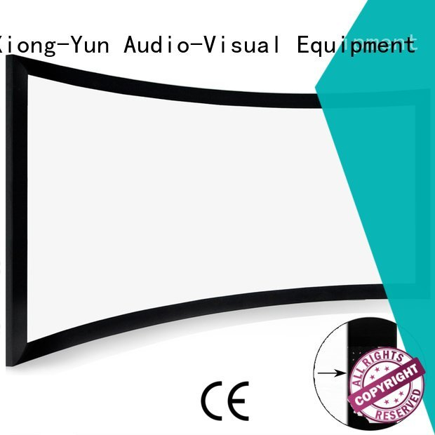 series widescreen projector cinema projector screen XY Screens