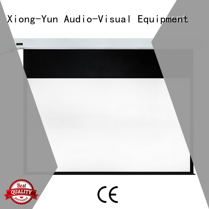 XY Screens intelligent motorized screens factory price for home