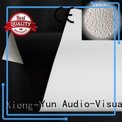 XY Screens Brand max matte HD home theater projection screens with soft PVC fabric