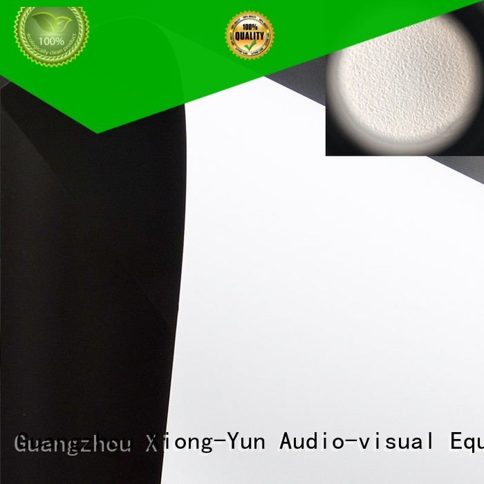 XY Screens durable projector fabric factory for thin frame projector screen