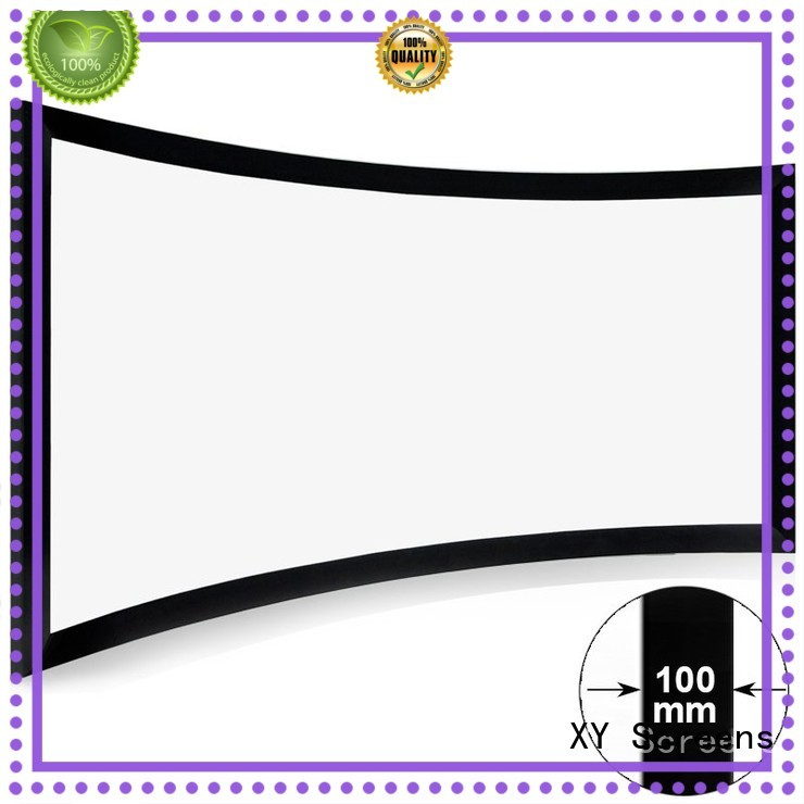 series projector cinema projector screen XY Screens manufacture