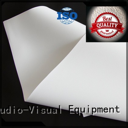 hard screen front and rear fabric inquire now for fixed frame projection screen