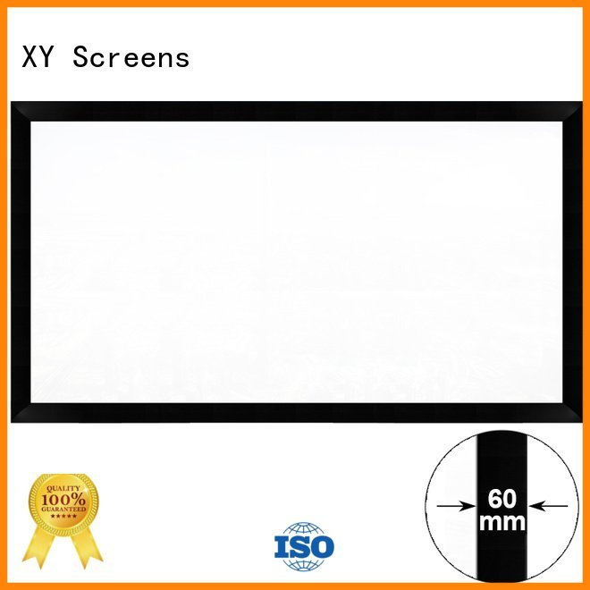 cinema screen XY Screens Commercial Fixed Frame Projector Screens