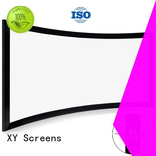 mini Home Entertainment Curved Projector Screens wholesale for ktv