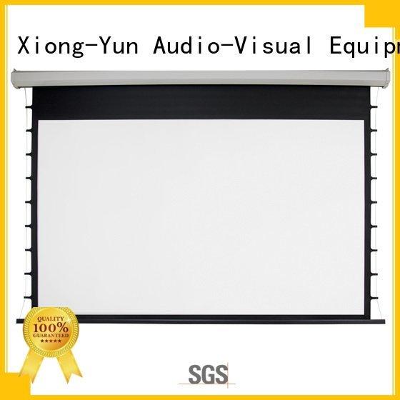 e300a movie XY Screens Electric Drop Down Movie Screen