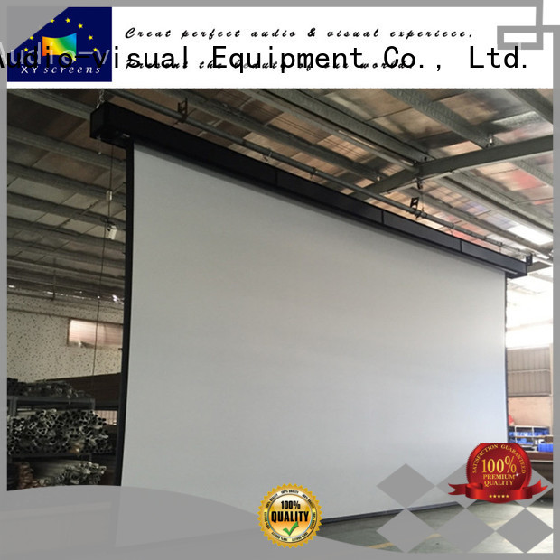 XY Screens home movie projector customized for movies