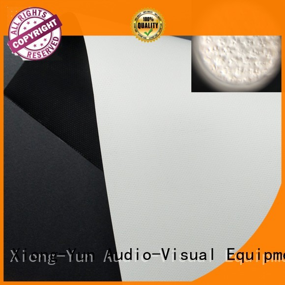 Quality XY Screens Brand gain front and rear fabric