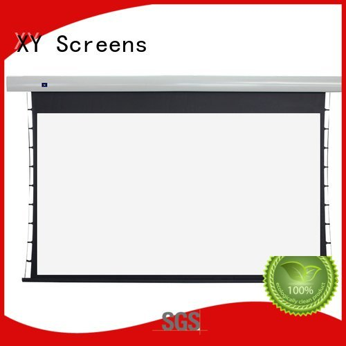tab tensioned electric projector screen tabtensioned projection OEM Tab tensioned series XY Screens