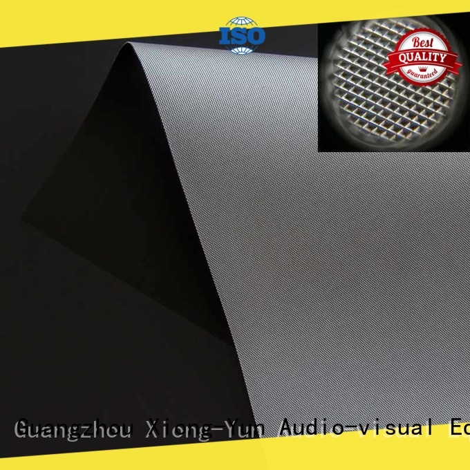 XY Screens standard best projector screen material customized for thin frame projector screen