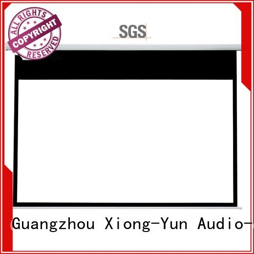 inch XY Screens Motorized Retractable Projector Screen