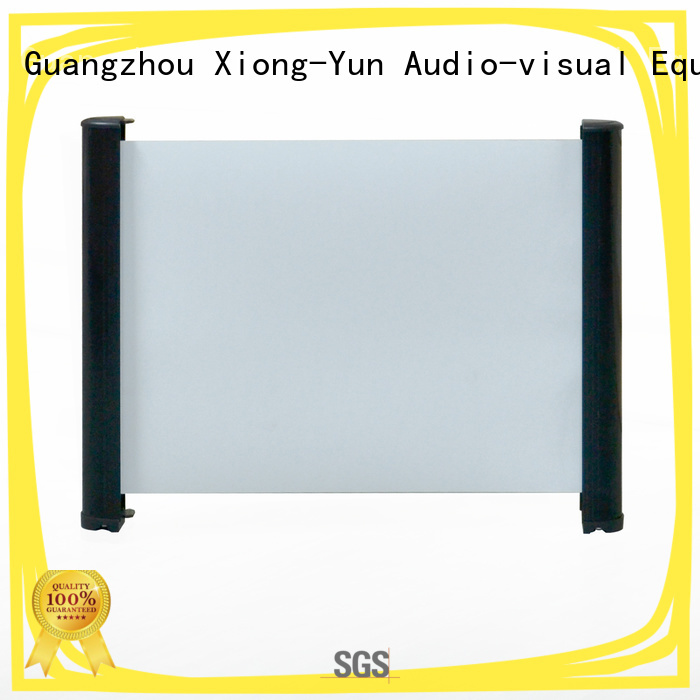 XY Screens curved tabletop projector screens factory price for indoors