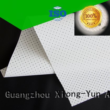 acoustically max sound perforating XY Screens acoustic fabric
