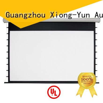 intelligent motorized projector screen factory price for rooms