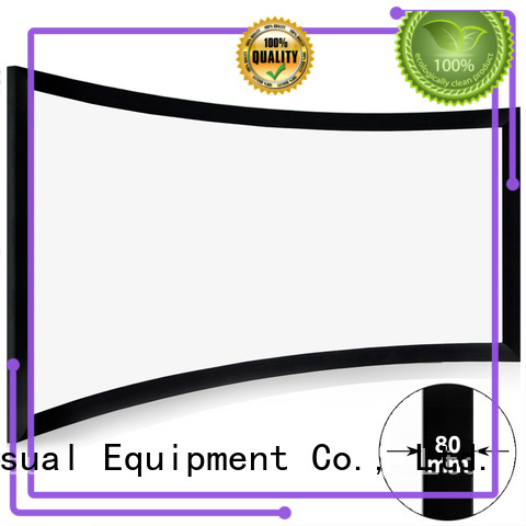 XY Screens mini Home Entertainment Curved Projector Screens wholesale for ktv
