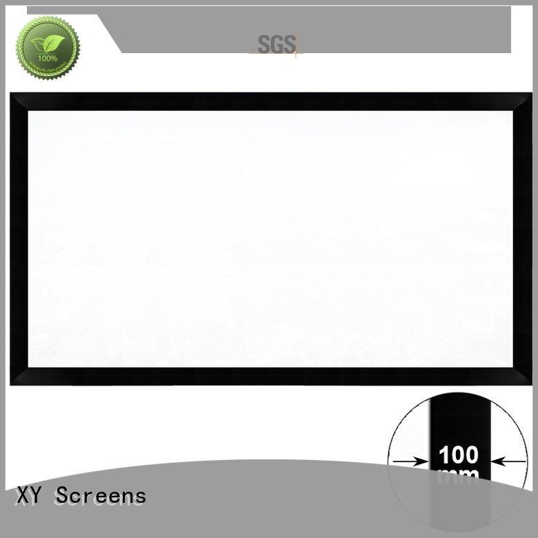 Custom projector screen price series cinema fixed XY Screens