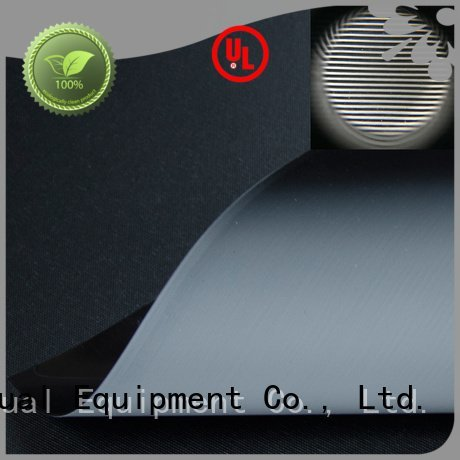 Hot matte white fabric for projection screen ultra Ambient Light Rejecting Fabrics gain XY Screens