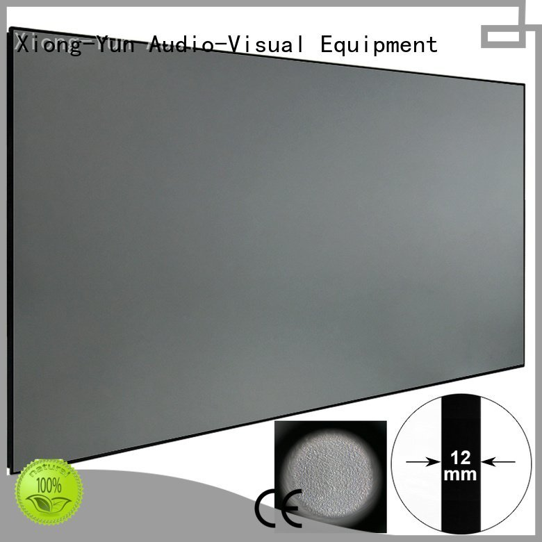 XY Screens Ambient Light Rejecting Projector Screen