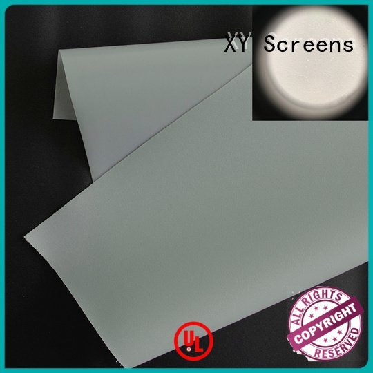 Front and rear portable projector screen front projector screen fabric XY Screens Brand