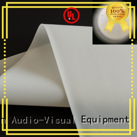 XY Screens hard projector screen fabric inquire now for fixed frame projection screen