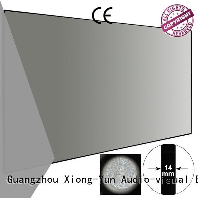 XY Screens hg Ambient Light Rejecting Projector Screen zhk100bblack projector