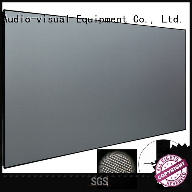 XY Screens ultra short throw projector screen series for television