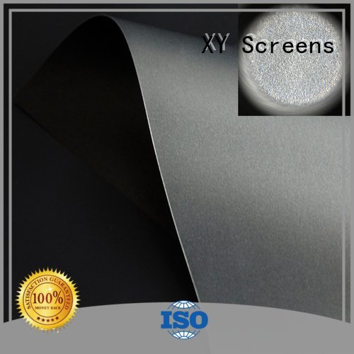 OEM matte white fabric for projection screen throw standard grid Ambient Light Rejecting Fabrics