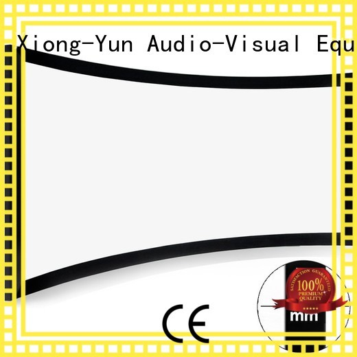 XY Screens home cinema projector customized for rooms