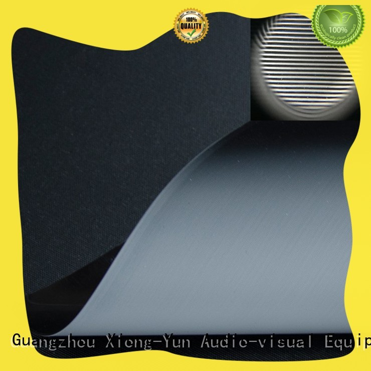 normal projector screen fabric customized for thin frame projector screen