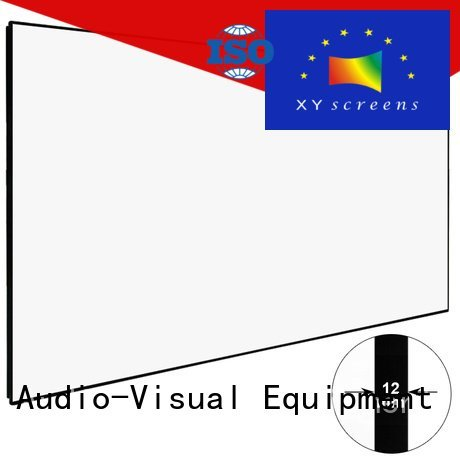 hd home theater projector screen hd series OEM hd projector screen XY Screens
