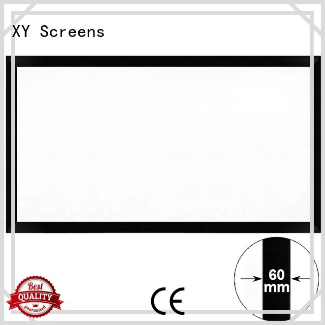 Hot screen home cinema screen and projector fixed XY Screens Brand