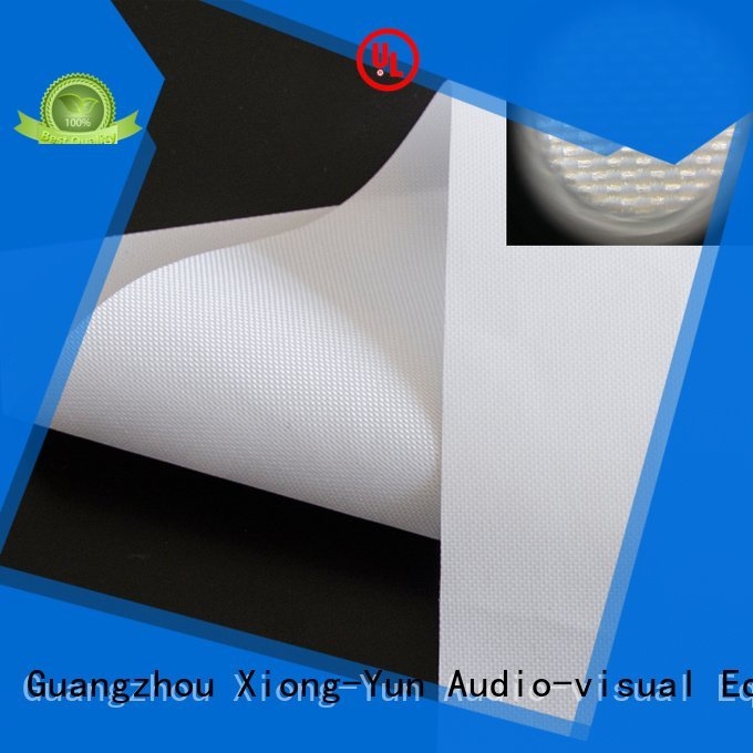 front projector screen fabric rh201 XY Screens