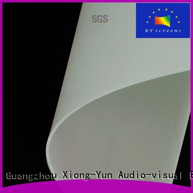 XY Screens Brand both projector screen fabric rh201 factory