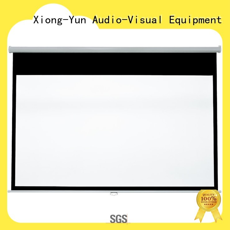 XY Screens drop down projector screen factory for classroom
