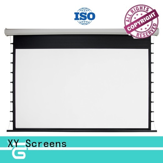 XY Screens retractable motorized screens wholesale for indoors