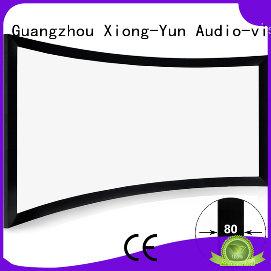 home entertainment projector cinema bezel XY Screens Brand