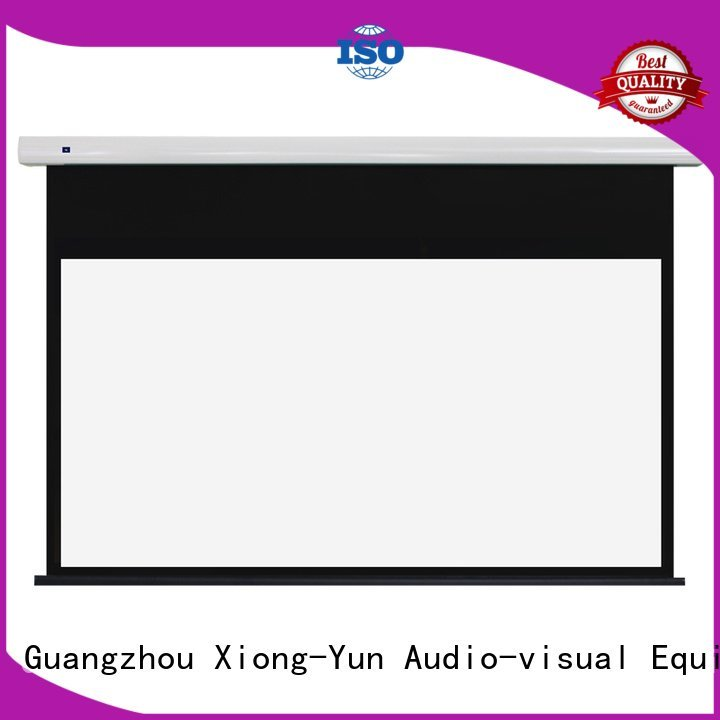 free standing projector screen projection Standard motorized series XY Screens Brand