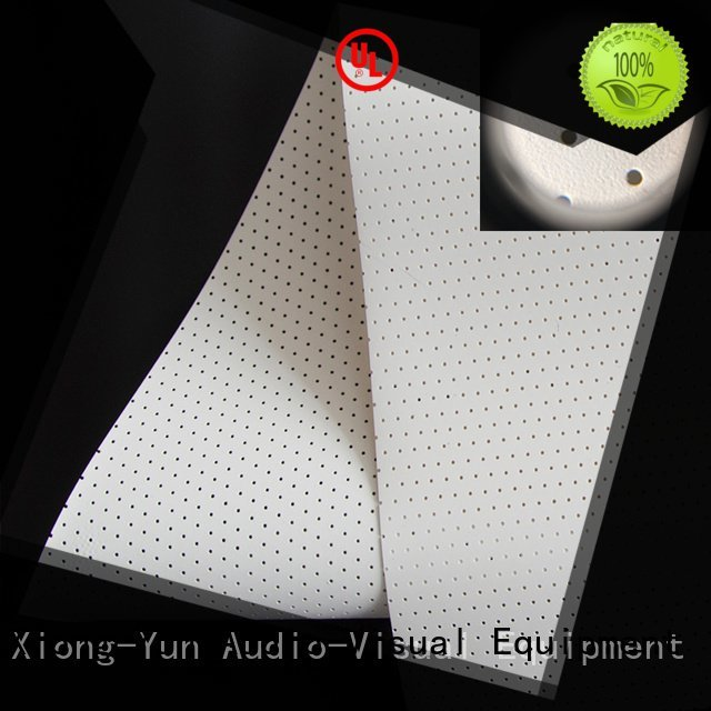Quality acoustic fabric XY Screens Brand perforating Acoustically Transparent Fabrics