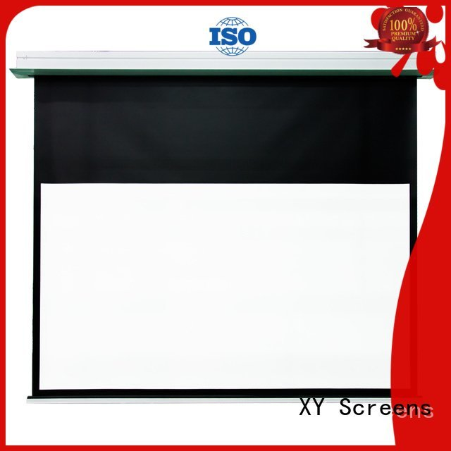 home theater screen hcl1 electric OEM Home theater projection screen XY Screens