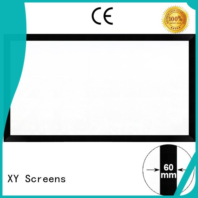 home cinema screen and projector mini hk60b OEM Commercial Fixed Frame Projector Screens XY Screens