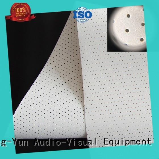 woven acoustic absorbing fabric wholesale for thin frame projector screen XY Screens