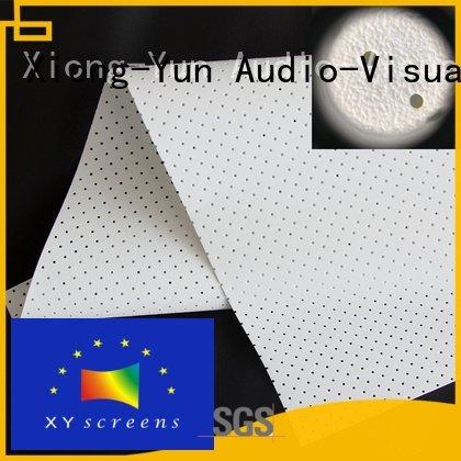 max5 max2 acoustic fabric XY Screens