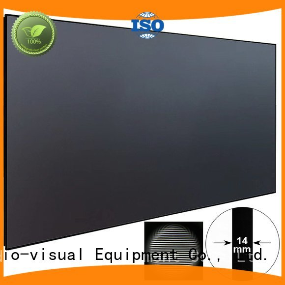 Quality ultra hd projector XY Screens Brand thin ultra short throw projector screen