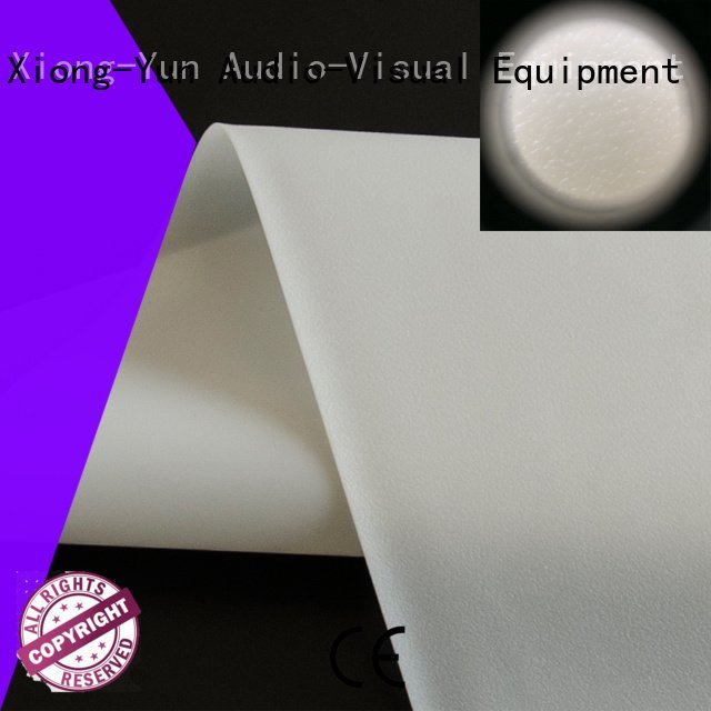 XY Screens Brand rh201 projector screen fabric