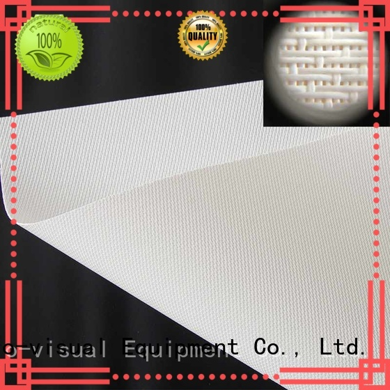 XY Screens 120 acoustically transparent screen from China for thin frame projector screen