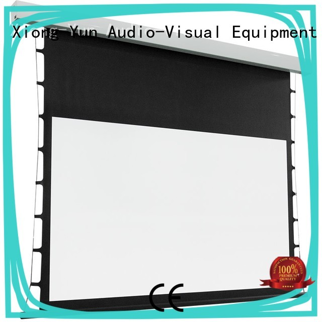 XY Screens tensioned projector screen wholesale for household