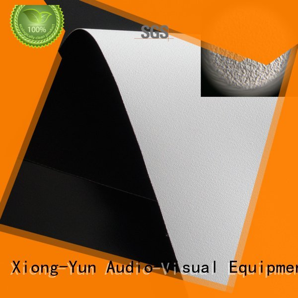 Wholesale hd pvc front and rear fabric XY Screens Brand