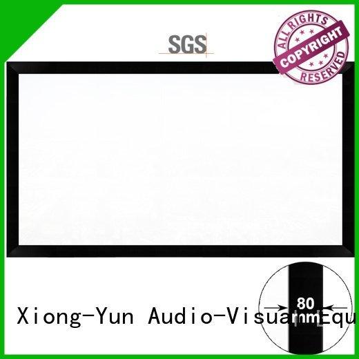 cheap movie projector theater screen hk80b XY Screens