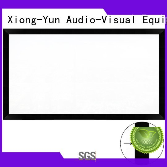 home cinema screen and projector ktv Commercial Fixed Frame Projector Screens projector XY Screens