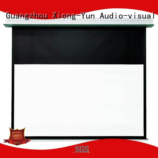 projector inceiling XY Screens Home theater projection screen